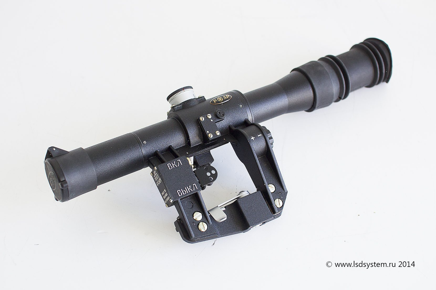 Обзор прицелов на лазертаг оружие