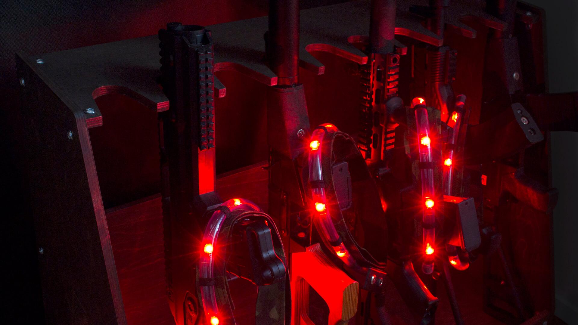 Стойка для лазертаг оборудования